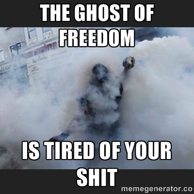 ghost of freedom is tired