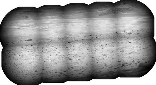 Curiosity sol 327 Chem Cam panorama