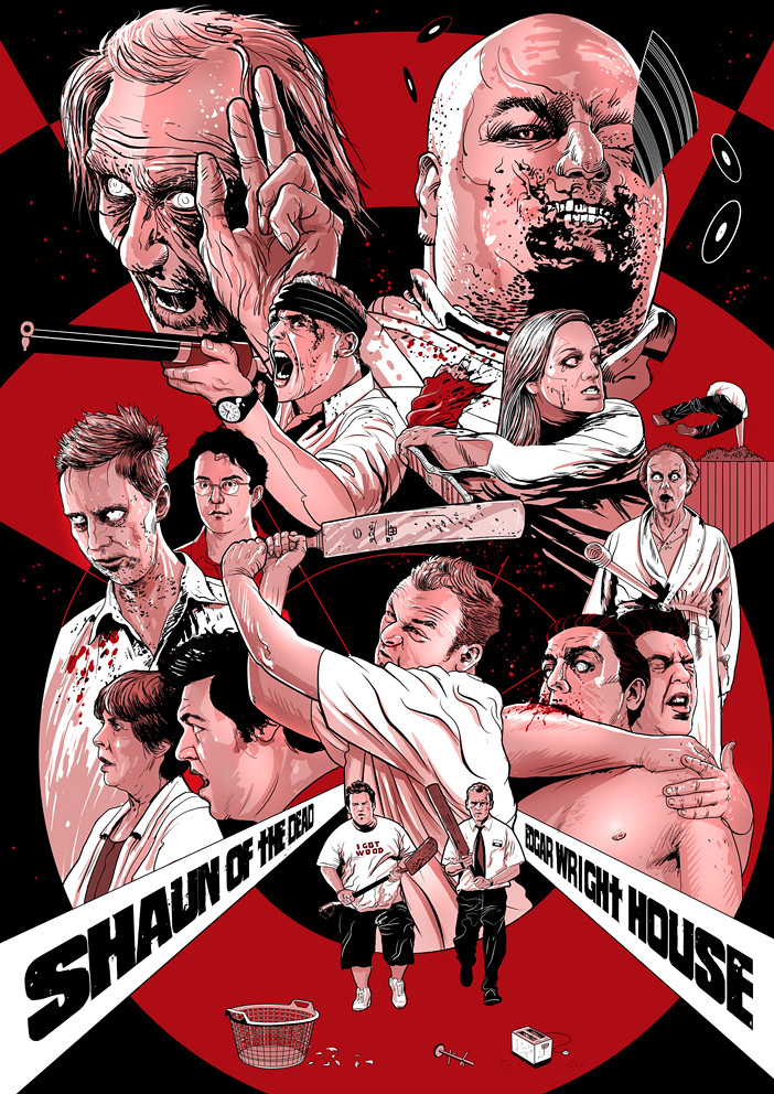 Shaun of the Dead / Poster Art / Steve Doogan