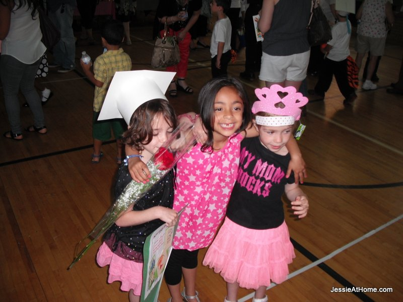 Happy-girls-kindergarten-graduation-June-2013