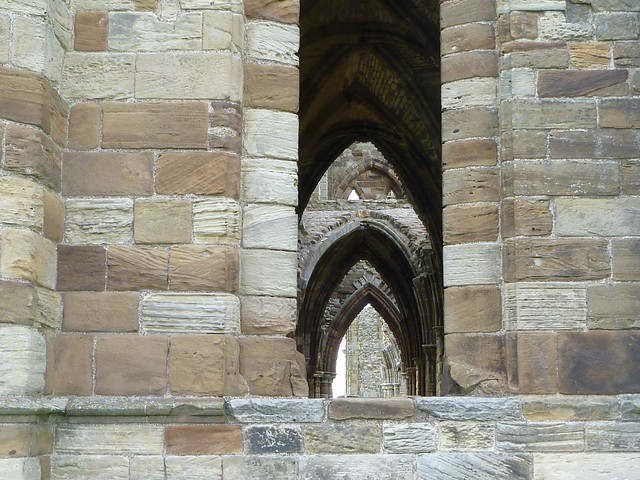 Arches, Whitby Abbey