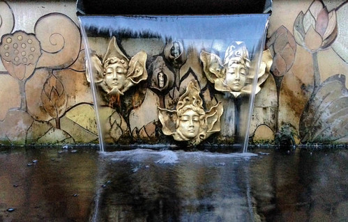 Faces In The Fountain