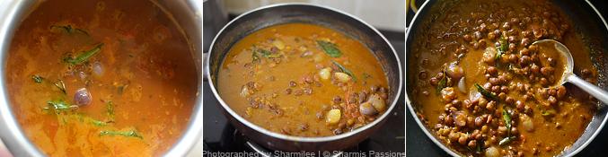 Kadala Curry Recipe - Step5