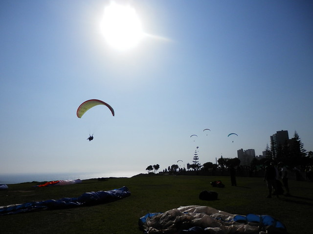 Paragliding in Lima - 1