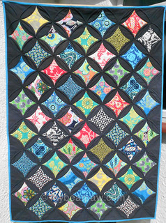 Jumbo Cathedral Window Quilt