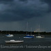 Thunder Storms Over White Rock Lake - Panoramic