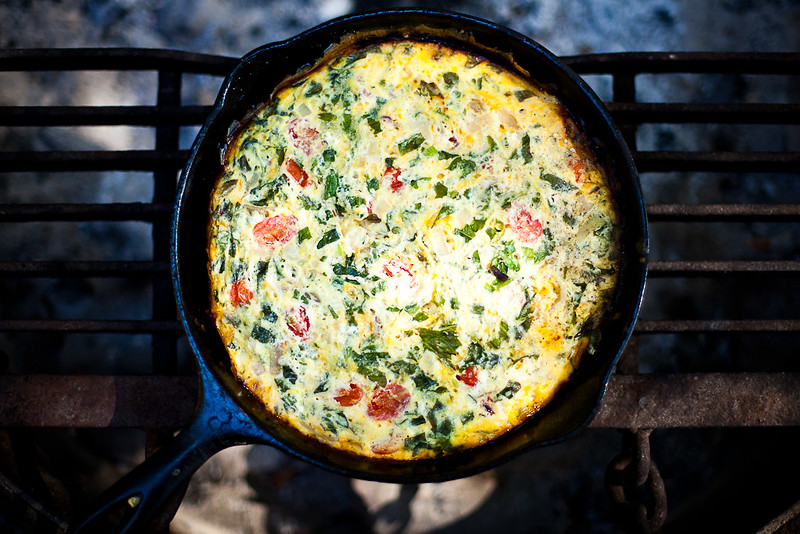 Campfire Frittata for Alite Design