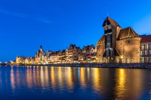 Gdansk skyline, north Poland [Explore #10 - thank you all!]