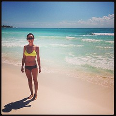 En el mar la vida es mas sabrosa... #cancun#beach#mexico