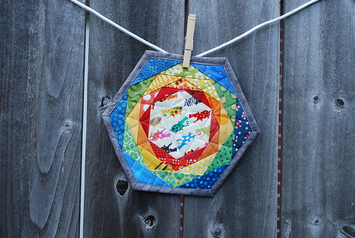 Hexi Trivet from Patchwork Please