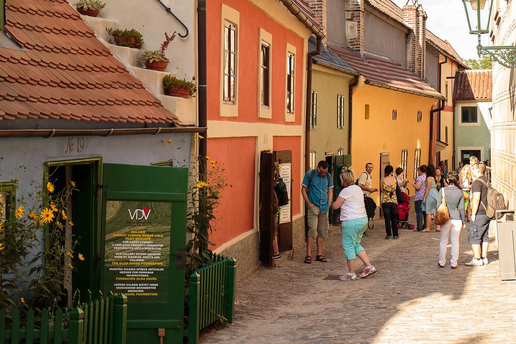 סמטת הזהב והאלכימאים בפראג