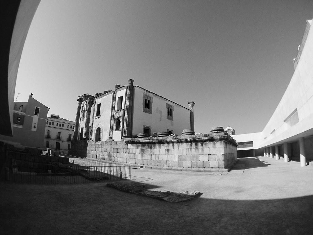 Templo de Diana_intervención_José María Sánchez_palacio