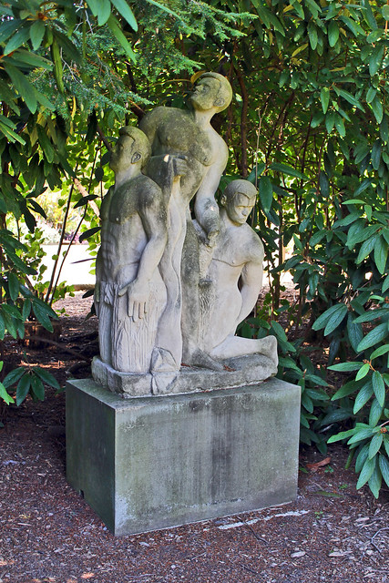 Vintage mill creek statues