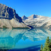 Morning at Bow Lake by 21mickrange