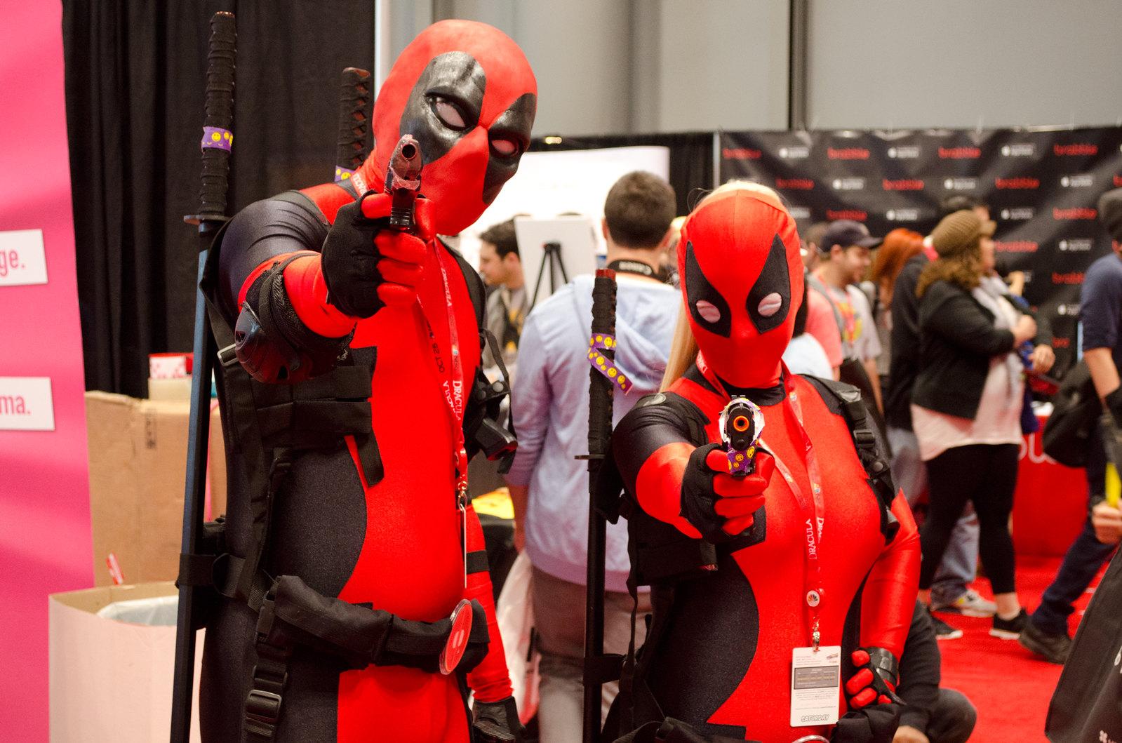 Deadpool Cosplay NYCC 2013