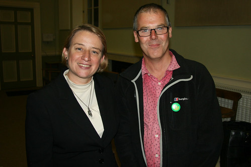 Natalie Bennett and Eric Lucas