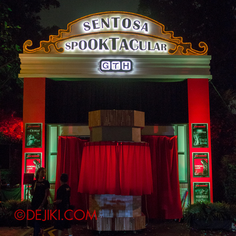 Sentosa Spooktacular 2013 - Entrance
