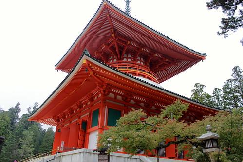 和歌山:高野山 奥の院〜金剛峯寺(2013.10.22)