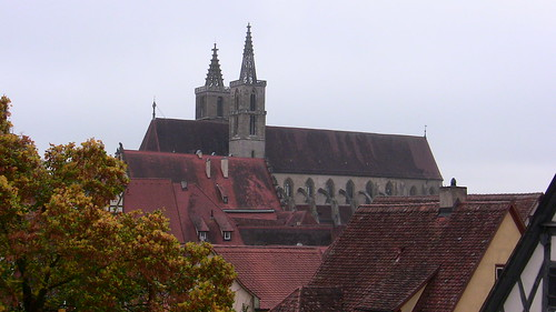 The Church of St. James, Rothenburg ob der Tauber