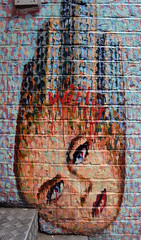 art, mosaic, wall, street art, painting, mural, graffiti, brick, brickwork, modern art,
