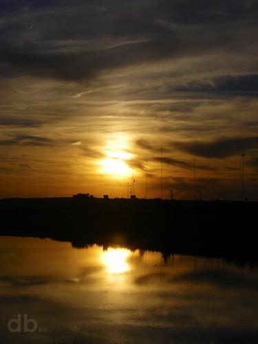 sunset ohio river gold midwest pentax miami dayton borderfx