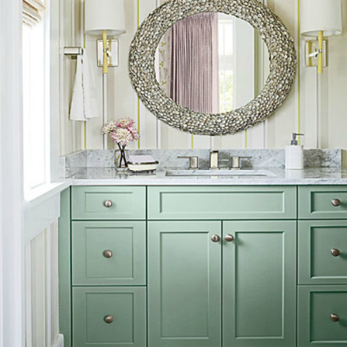Creategirl for Colors for bathroom cabinets