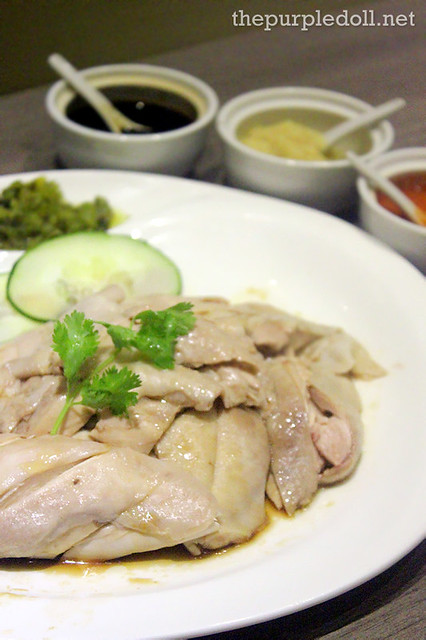 Signature Boiled Chicken (Whole P845; Half P455; Quarter P245)