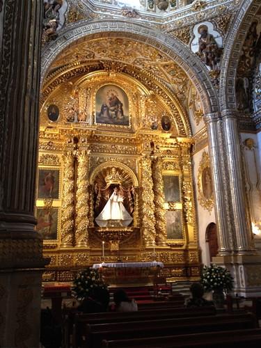 Oaxaca Templo Santo Domingo - Rosary Chapel