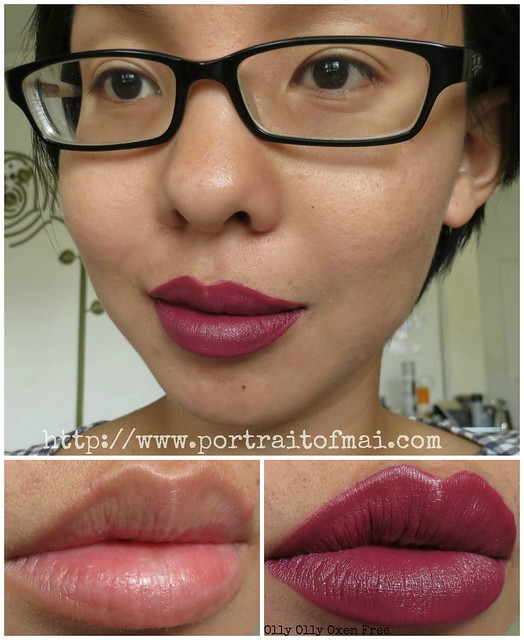 limnit lipsticks Olly Olly Oxen Free collage