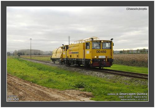 Ferrovias DD 450 · 30423 · Regueira de Pontes · 07.11.2013