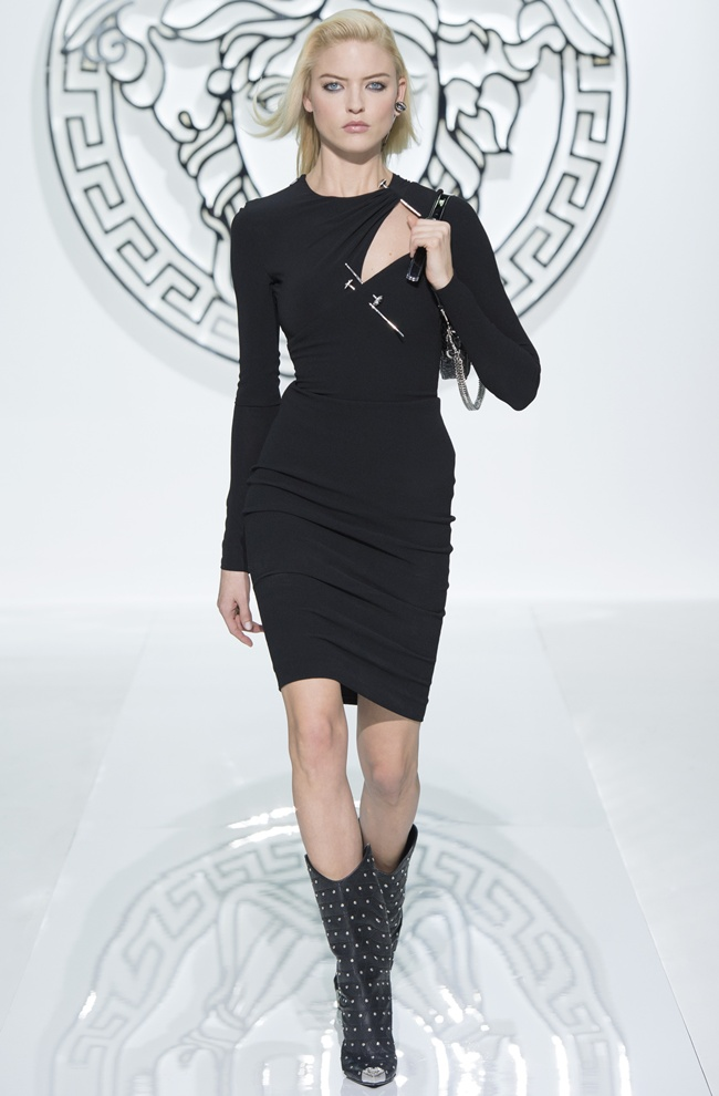3 dress8 VERSACE Women's FW1314