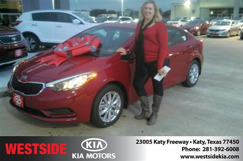 Thank you to Heather Smith  on your new car  from Gil Guzman and everyone at Westside Kia! #NewCar by Westside KIA