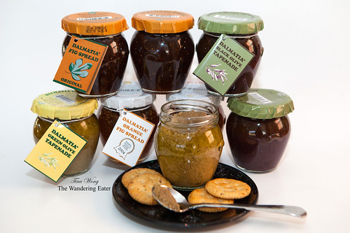 Dalmatia Imports Fig Jams and Olive Tapenades