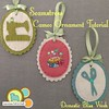 Felt Ornament Tutorial - Seamstress Cameos