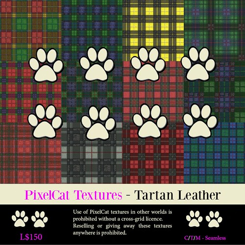 PixelCat Textures - Tartan Leather