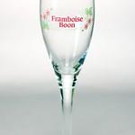 ベルギービール大好き!!【ブーン・フランボワーズの専用グラス】(管理人所有 )