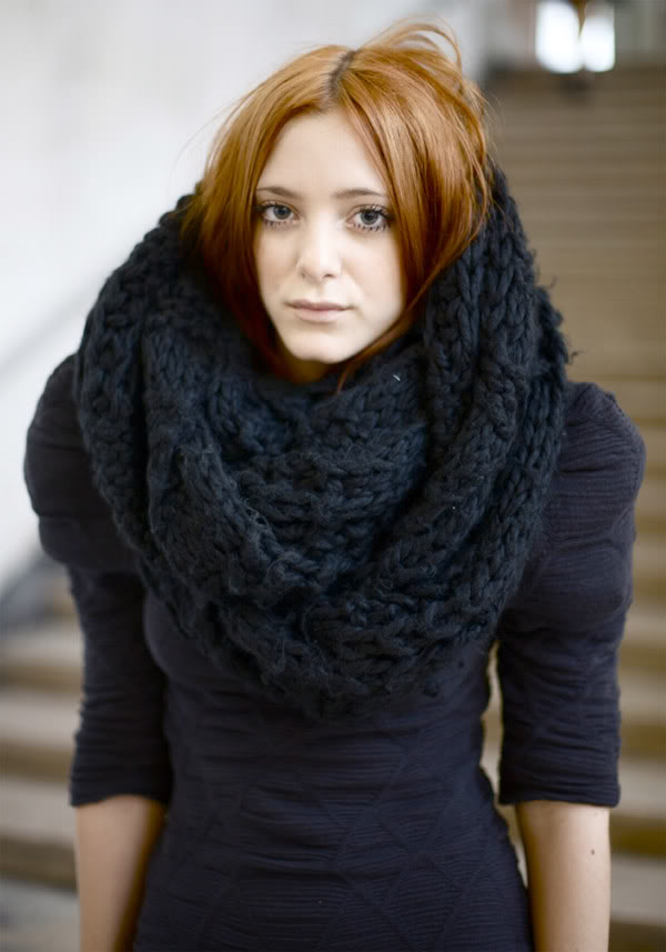 chunky knit scarf_11