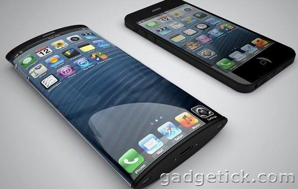 Изогнутые экраны Apple