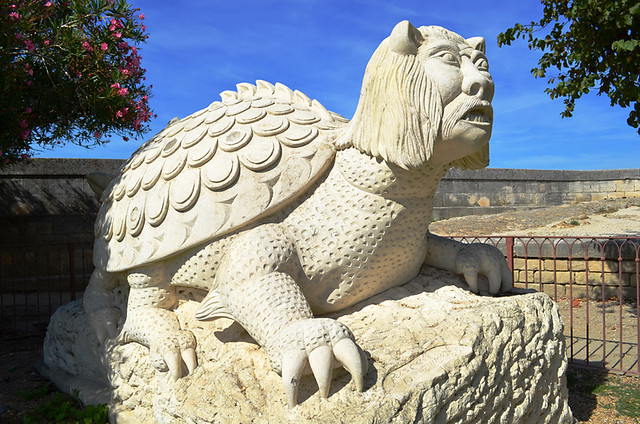 The Tarasque, Tarascon, Provence, France