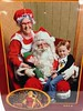 Mason's first visit with Santa...A SUCCESS! Woot! #GoodKids