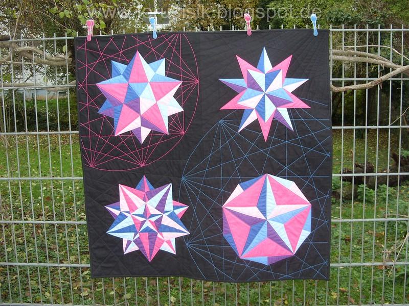 Звездчатые многогранники - это