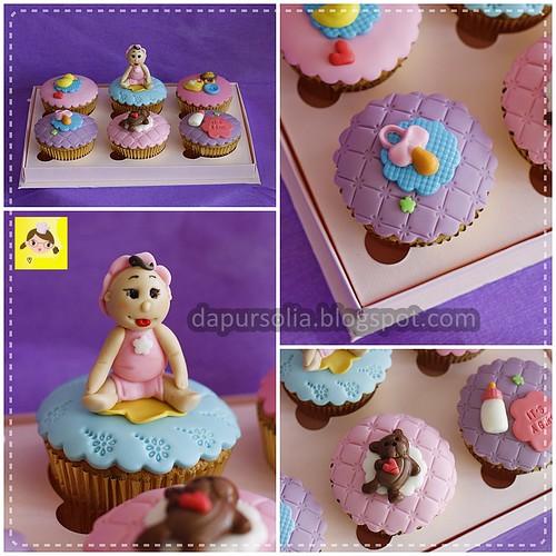 Rani It's A Girl Cupcake