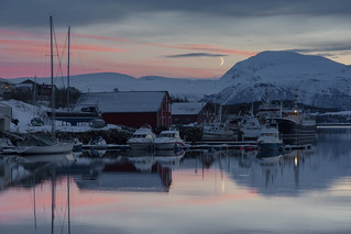 Harbour Near Tromsø