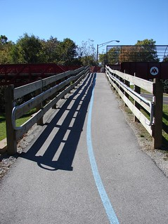 Monon & Fall Creek trail ramp
