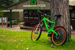 Birches Valley - Swinnerton Cycles and my Orange Five