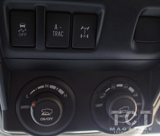 2014 4runner Trail edition off road controls   TCT Magazine   Photo by Phillip Jones