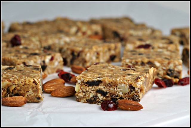 Peanut Butter Trail Mix Bars 2