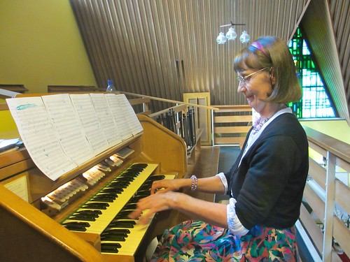 St Louis Rathmines celebrated its centenary on St Louis Day, August 25, 2013. Pauline Johnson SSL plays the organ at a special Mass to mark the occasion
