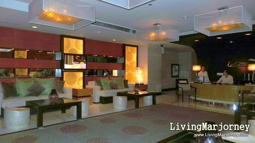 Lobby of Le Spa