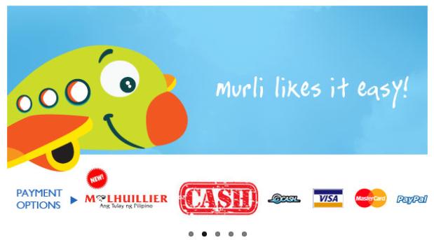 PAYMENT OPTION FOR MURANGLIPAD.COM